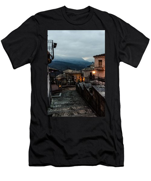 Streets Of Italy - Caramanico 3 Men's T-Shirt (Athletic Fit)