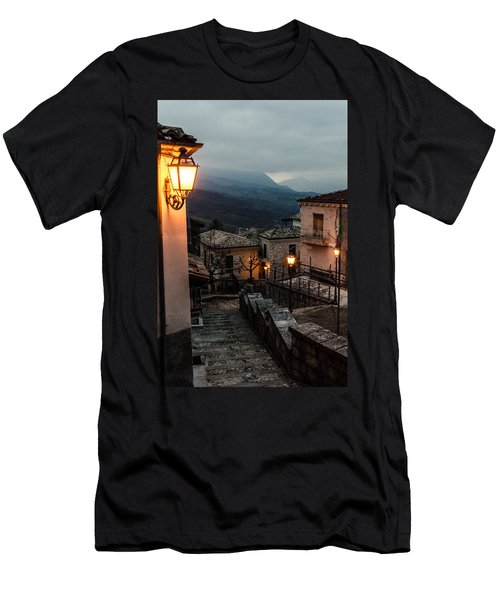 Streets Of Italy - Caramanico Men's T-Shirt (Athletic Fit)