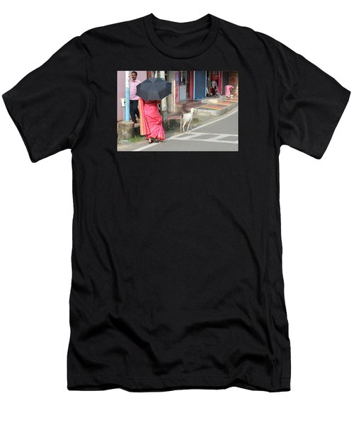 Streets Of Kochi Men's T-Shirt (Athletic Fit)