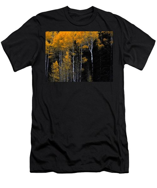 Striking Gold Men's T-Shirt (Athletic Fit)