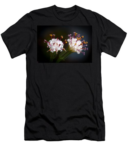 String Of Pearl Succulent Flowers Men's T-Shirt (Athletic Fit)