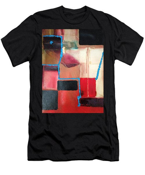 String Theory Abstraction Men's T-Shirt (Athletic Fit)