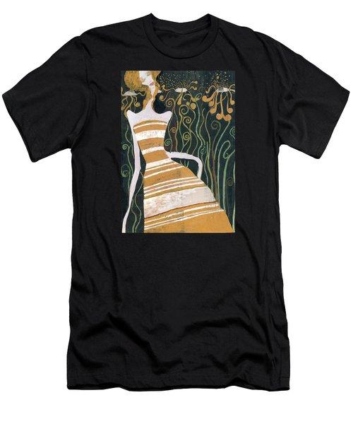 Stripe Dress Men's T-Shirt (Athletic Fit)