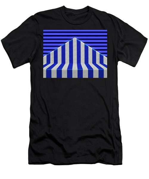 Stripes Men's T-Shirt (Athletic Fit)