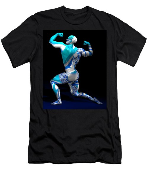Male Model Studio Man Render 12 Men's T-Shirt (Athletic Fit)