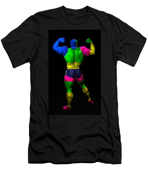 Studio Man Render 10 Men's T-Shirt (Athletic Fit)
