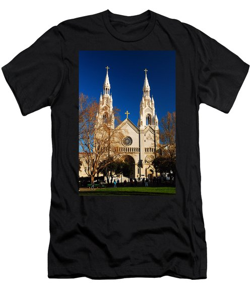 Sts Peter And Paul Men's T-Shirt (Slim Fit) by James Kirkikis