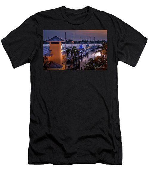 Stuart Harbor Men's T-Shirt (Athletic Fit)
