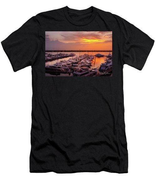 Stuart Sunset Men's T-Shirt (Athletic Fit)