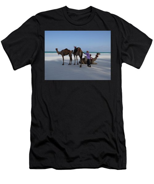 Stubborn Wedding Camels Men's T-Shirt (Athletic Fit)