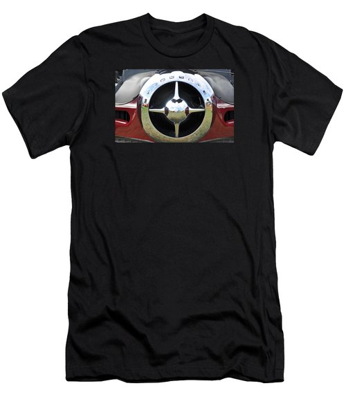 Men's T-Shirt (Slim Fit) featuring the photograph Studebaker Chrome by Glenn Gordon