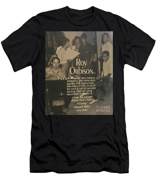 Studio B Roy Orbison  Men's T-Shirt (Athletic Fit)