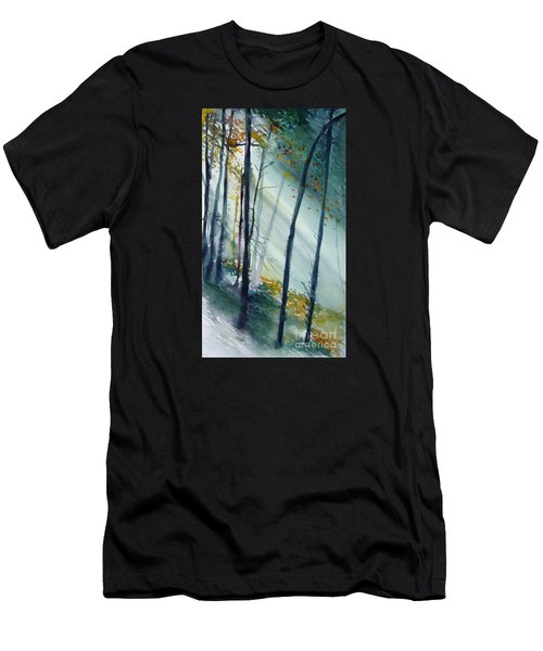 Study The Trees Men's T-Shirt (Athletic Fit)