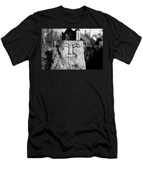 Stump Face 1 Men's T-Shirt (Athletic Fit)