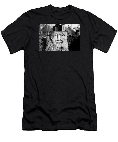 Stump Face 1 Men's T-Shirt (Athletic Fit)
