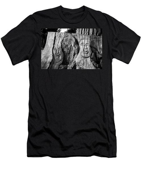 Stump Faces 2 Men's T-Shirt (Athletic Fit)