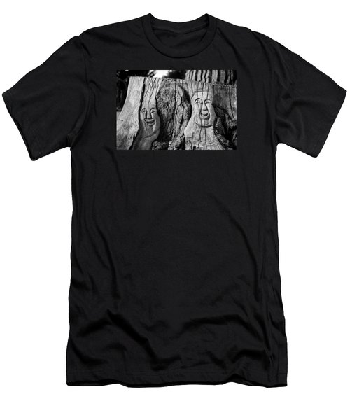Stump Faces 2 Men's T-Shirt (Athletic Fit)