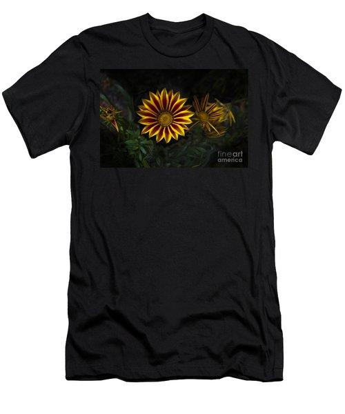 Stunning Flowers Abound Here Men's T-Shirt (Athletic Fit)