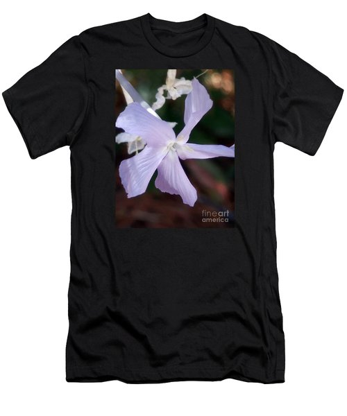 Stunning New Mexico Purple Wildflower Men's T-Shirt (Athletic Fit)