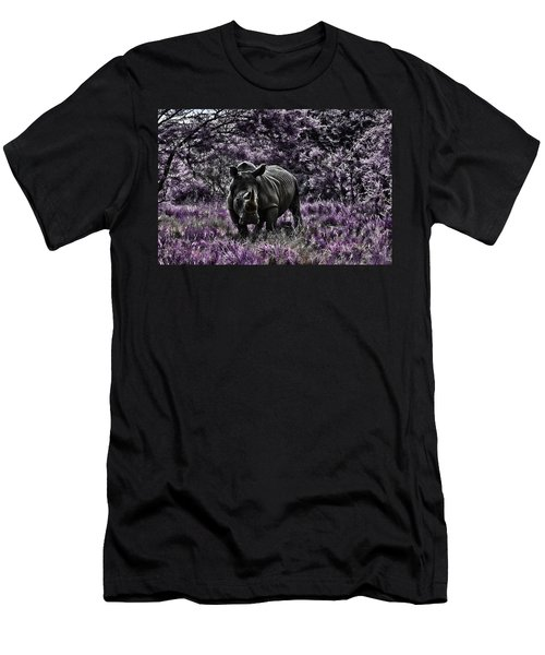 Styled Environment-the Modern Trendy Rhino Men's T-Shirt (Slim Fit) by Douglas Barnard