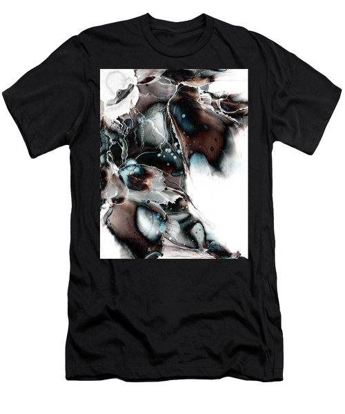 Men's T-Shirt (Slim Fit) featuring the painting Sublime by Patricia Lintner