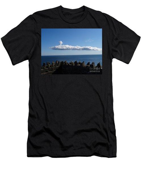 Submarine Cloud Men's T-Shirt (Athletic Fit)