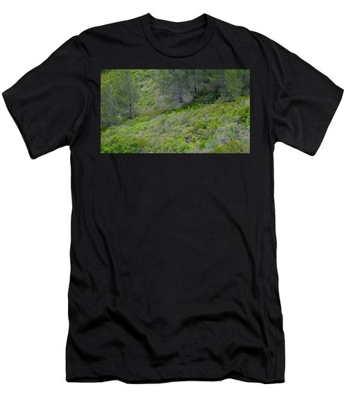 Men's T-Shirt (Athletic Fit) featuring the photograph Subtle Spring by August Timmermans