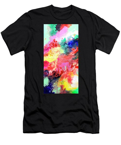 Subtle Vibrations, Canvas Four Of Five Men's T-Shirt (Athletic Fit)