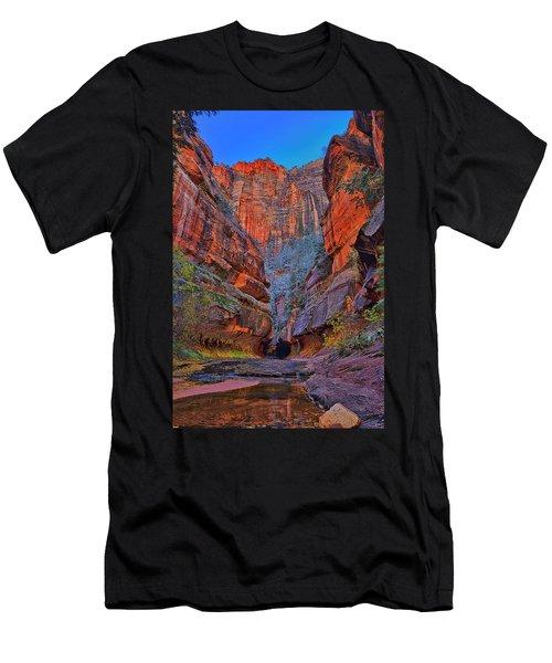 Subway Entrance Men's T-Shirt (Athletic Fit)