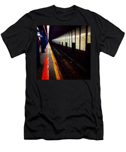 Subway Men's T-Shirt (Athletic Fit)