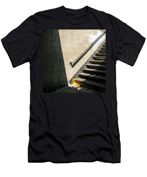 Subway Stairs Men's T-Shirt (Athletic Fit)