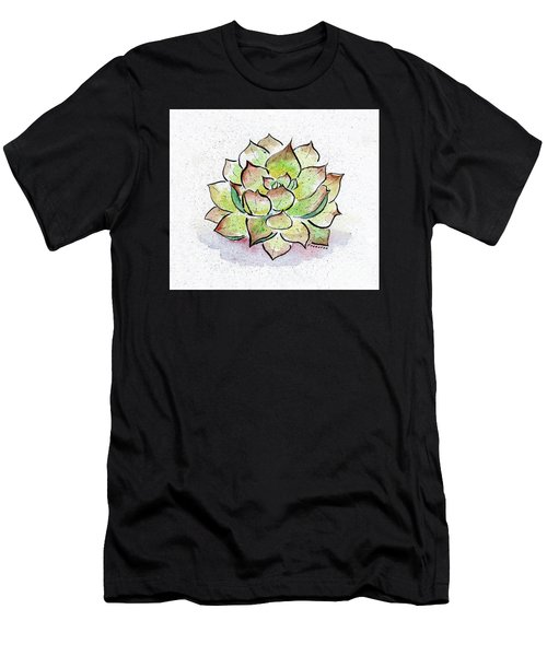Succulent Men's T-Shirt (Athletic Fit)