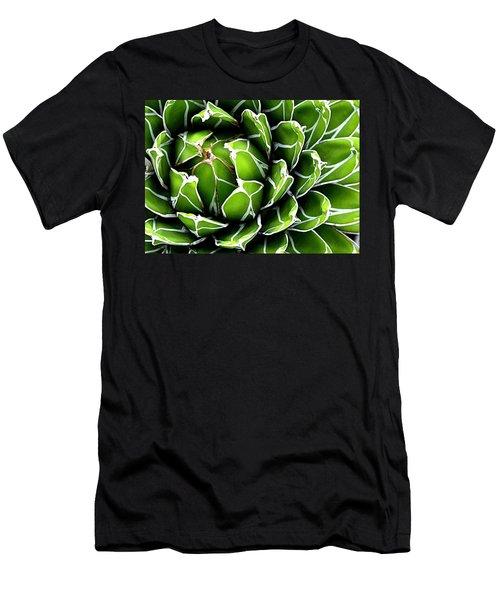 Succulent In Color Men's T-Shirt (Athletic Fit)