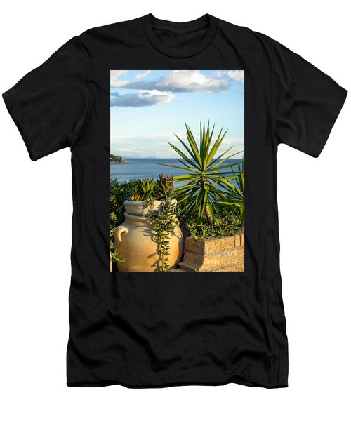 Succulents By The Sea Men's T-Shirt (Athletic Fit)