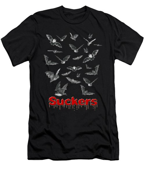Suckers Men's T-Shirt (Slim Fit) by Brian Wallace