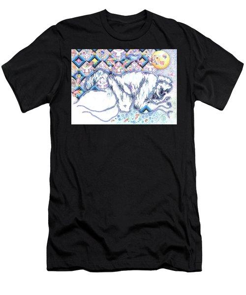 Suenos De Invierno Winter Dreams Men's T-Shirt (Athletic Fit)
