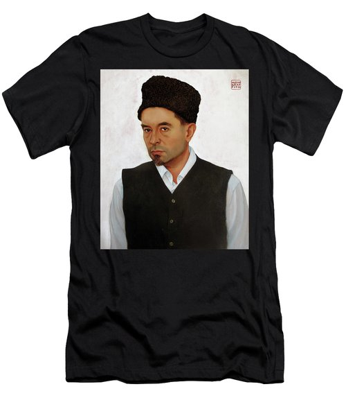Sufi With Astrakhan Hat Men's T-Shirt (Athletic Fit)