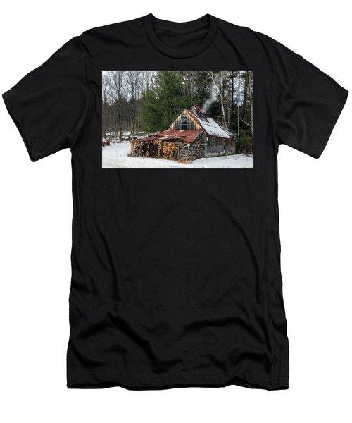 Sugar King's Smokehouse Men's T-Shirt (Athletic Fit)