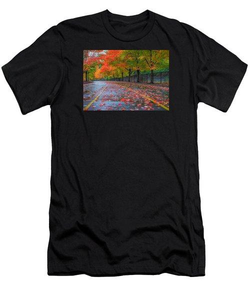 Sugar Maple Drive Men's T-Shirt (Athletic Fit)