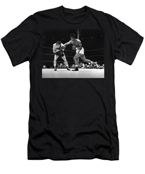 Sugar Ray Robinson Men's T-Shirt (Athletic Fit)