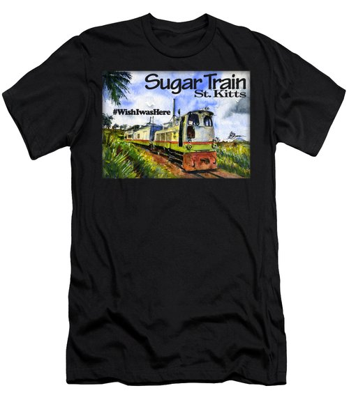 Sugar Train St. Kitts Shirt Men's T-Shirt (Athletic Fit)