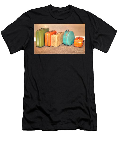 Suitcases Men's T-Shirt (Athletic Fit)