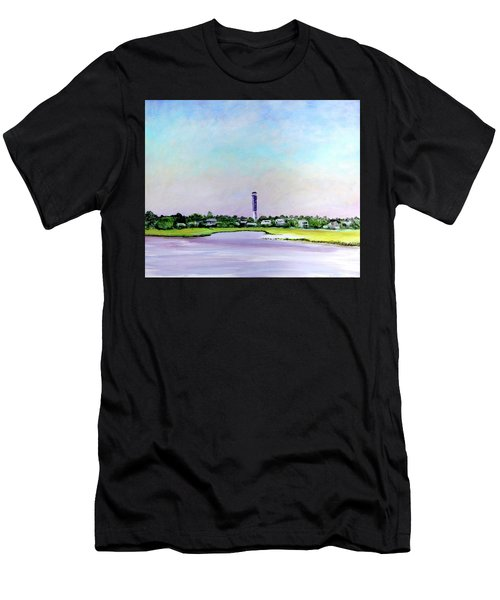 Sullivans Island Lighthouse Men's T-Shirt (Athletic Fit)