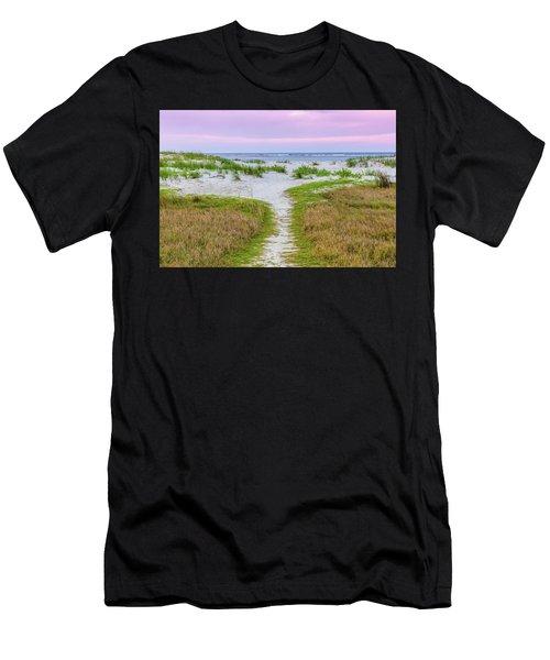 Sullivan's Island Natural Beauty Men's T-Shirt (Athletic Fit)