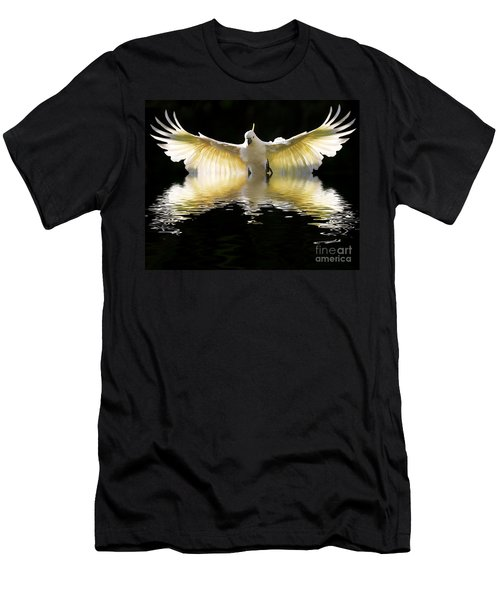 Sulphur Crested Cockatoo Rising Men's T-Shirt (Athletic Fit)