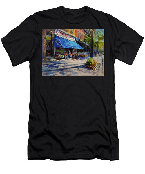 Summer Afternoon, Columbus Avenue Men's T-Shirt (Athletic Fit)