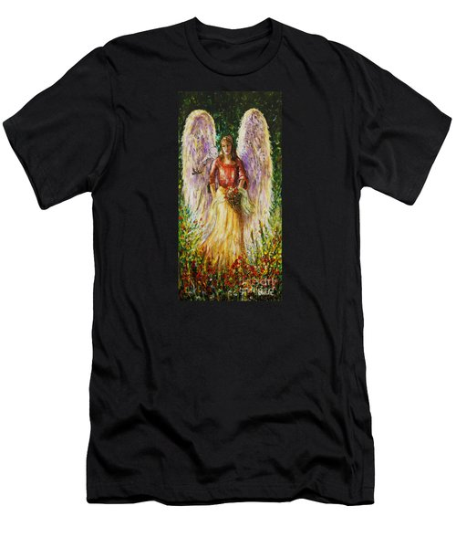 Summer Angel Men's T-Shirt (Athletic Fit)