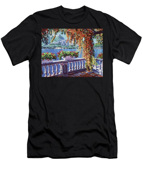 Summer At Lake Como Men's T-Shirt (Athletic Fit)