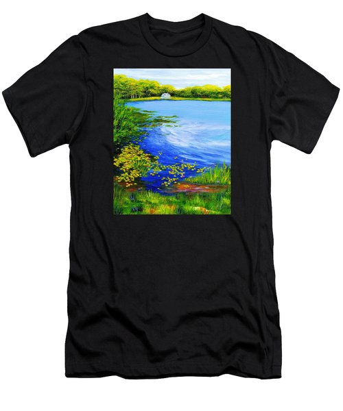 Summer At The Lake Men's T-Shirt (Athletic Fit)