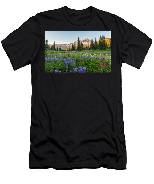 Summer Beauty At Indian Henry's Hunting Ground Men's T-Shirt (Athletic Fit)